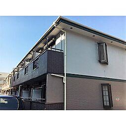 神奈川県横浜市青葉区つつじが丘の賃貸アパートの外観