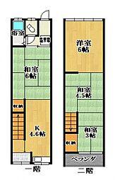高見ノ里駅 5.1万円