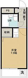 煉瓦館82[305号室号室]の間取り