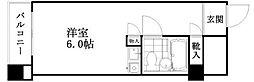 神奈川県横浜市神奈川区六角橋6丁目の賃貸マンションの間取り