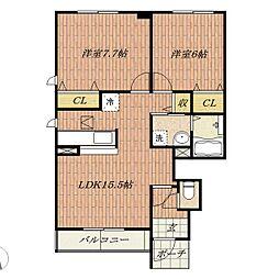 Du Sud Maison[1階]の間取り