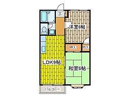 AZURE HOME[2階]の間取り