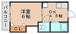 ハイム松島[3階]の間取り