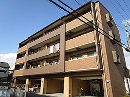 キラクマンション[4階]の外観