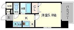 エスリード新大阪SOUTH[7階]の間取り