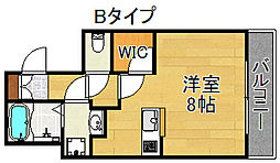 Ritz SQUARE Garden[2階]の間取り
