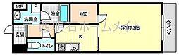 ASプレミアム神戸西[7階]の間取り
