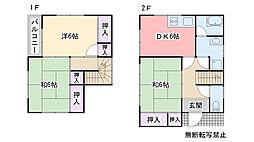 [一戸建] 福岡県糸島市前原北2丁目 の賃貸【/】の間取り