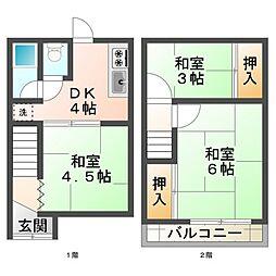 [テラスハウス] 兵庫県神戸市垂水区泉が丘5丁目 の賃貸【/】の間取り