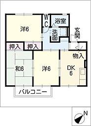 ドミ−ル栄[2階]の間取り