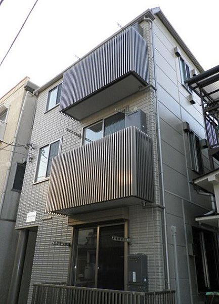 神奈川県横浜市神奈川区神奈川1丁目の賃貸アパートの外観