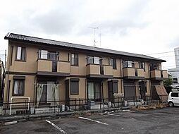 京都府京都市山科区勧修寺東堂田町の賃貸アパートの外観