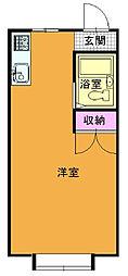 内ヶ島サンハイツ[102号室]の間取り