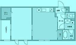 フェリチターレ[4階]の間取り