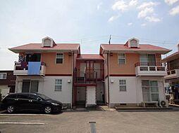 コーポラス松尾A・B[1階]の外観