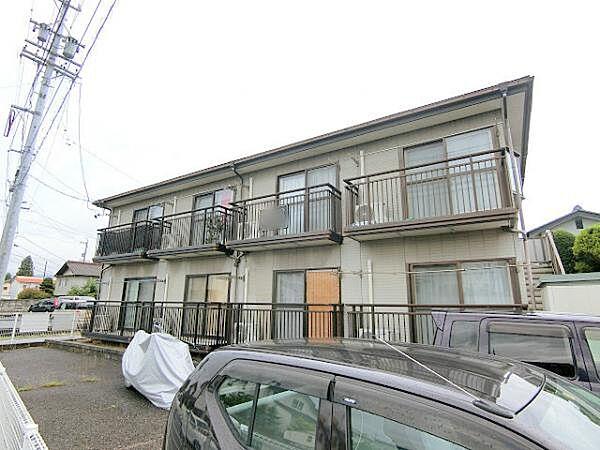 長野県長野市稲葉の賃貸アパートの外観