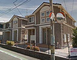 広島県福山市東川口町3の賃貸アパートの外観
