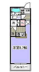 ローズマンションA31番館[2階]の間取り