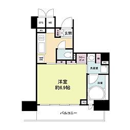 レジディア神戸元町[0403号室]の間取り