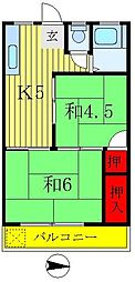 和田ビル[4階]の間取り