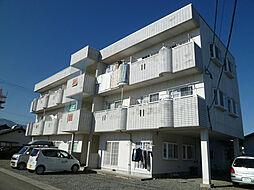 東栄マンション[1階]の外観