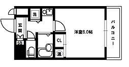 CityLifeディナスティ新大阪[2階]の間取り