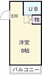 プチメゾン岸和田[4階]の間取り