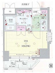 ディナスティ福島II[10階]の間取り
