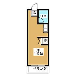 和合カレッジハイツ[5階]の間取り