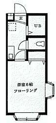 メゾン サエラ[1階]の間取り