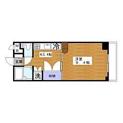 IVYハウス[5階]の間取り