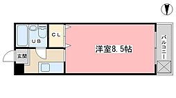 アークハイム四ノ宮[305号室]の間取り