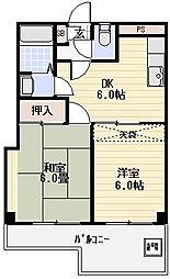 ビュープラザ五反野[3階]の間取り