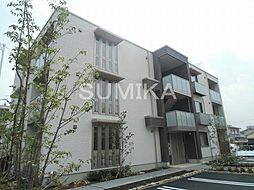 岡山県岡山市北区今5丁目の賃貸マンションの外観