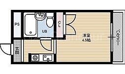 メゾン・ド・シュルヴィー[3階]の間取り