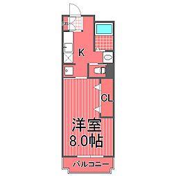 丸菱ロイヤルハイム神之木台[2階]の間取り