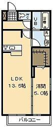 (新築)D-room 吉村[101号室]の間取り