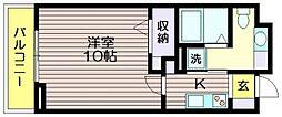 WIN BELL仙川[3階]の間取り