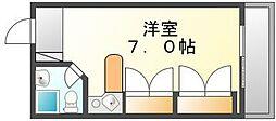 香川県高松市塩上町2丁目の賃貸マンションの間取り