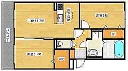 (仮)D−room仁保1丁目[302号室]の間取り