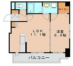 カームヴィラ[5階]の間取り