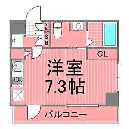 横浜翠葉ビルディングワン[7階]の間取り