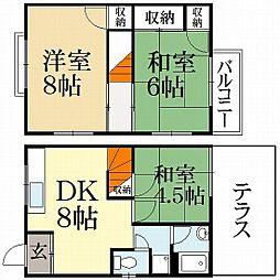 池田ハウス[2階]の間取り