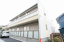 東京都町田市高ヶ坂7丁目の賃貸アパートの外観