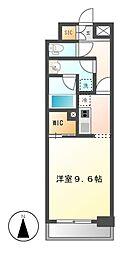 エルスタンザ名駅西[3階]の間取り