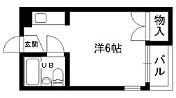 寺下ハイツ[301号室]の間取り