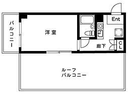 カサベラ岡本[6階]の間取り