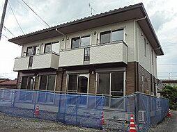 長野県松本市高宮中の賃貸アパートの外観