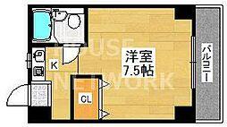 クレイン京都ST[201号室号室]の間取り