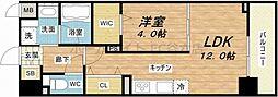 ビビアンパレス桜川公園[2階]の間取り